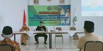 Pelaksanaan Umrah Masih Wacana, Kemenag Tuban Minta Tidak Sebarkan Hoax