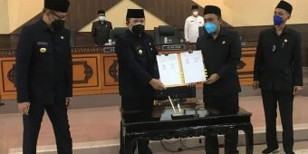Hadiri Paripurna DPRD, Bupati Hendy: Pemindahan Pusat Pemerintahan Jember Masuk Draf RPJMD 2021-2026