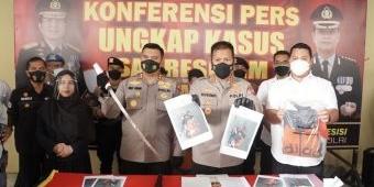 Dua Pelaku Begal Bersenjata Samurai di Sidoarjo Berhasil Diringkus Polisi