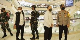 Hari Pertama Idul Fitri, Forkopimda Jatim Pantau Prokes di Pusat Perbelanjaan