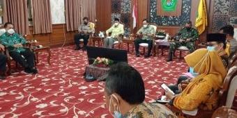 Evaluasi Pelaksanaan PPKM Level III, Pemkab Pamekasan Siapkan Bantuan Untuk Takmir Masjid