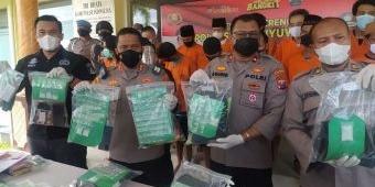 Panen Tangkapan, Polresta Banyuwangi Raih Peringkat ke-3 Operasi Tumpas Narkoba