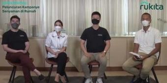 Respons Persoalan Kesehatan Mental, Rukita Kampanyekan Senyaman di Rumah