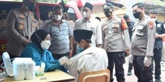 Percepatan Vaksinasi, Polresta Sidoarjo Blusukan ke Desa-desa