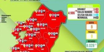 Rincian Data Kasus Covid-19 di Madiun Ada Selisih 200 Orang dari Total, Begini Penjelasan Dinkes
