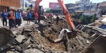 Ambles, Jalan Sultan Agung Jember Mulai Digarap