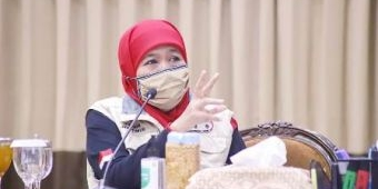 May Day, Gubernur Khofifah Ajak Pekerja-Pengusaha Kolaborasi, Saling Mau Dengar Masukan