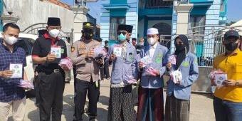 Tekan Laju Corona, Komunitas Song Osong Lombhung Gelar Bagi-Bagi Masker di Masjid dan Pasar