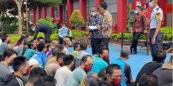 Lapas Narkotika Kelas IIA Pamekasan Kembali Terima 81 Napi dari Surabaya dan Banyuwangi
