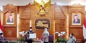 Isi Kekosongan Kepemimpinan di Pemkab Nganjuk, Gubernur Jatim Lantik Wabup Marhaen Jadi Plt Bupati