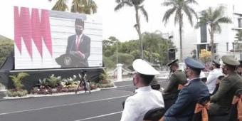 Ikuti Upacara HUT TNI ke-76, Bupati Hendy Apresiasi Peran TNI Perangi Pandemi di Jember