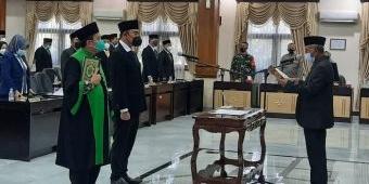 Tok! Imam Sutiono Resmi Dilantik Sebagai Wakil Ketua DPRD Tuban Gantikan Ilmi Zada
