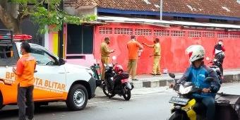 Mural di Dekat Lokasi Kedatangan Presiden Jokowi di Kota Blitar Mendadak Dihapus