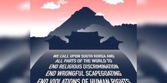 Dunia Peringatkan Korea Selatan Mengenai Penindasan Agama, HAM, dan Perdamaian Menggunakan Covid-19