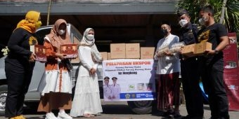 Ketua Dekranasda Bersama Kadiskoperindag dan Bea Cukai Lepas Ekspor Sarang Burung Walet ke Hongkong