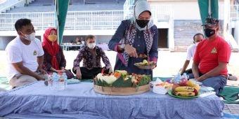 Selamatan Wiwitan Sebelum Relokasi Pasar Besar Kota Batu