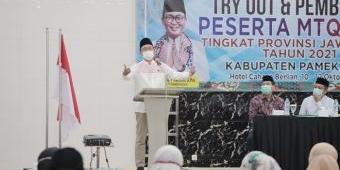 Pemkab Pamekasan Gelar Try Out dan Pembinaan Local Organizing Committe MTQ ke XXIX Jawa Timur