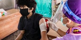 Dukung Percepatan Vaksinasi, RSUD Gambiran Kota Kediri Gelar Vaksinasi Dosis Pertama
