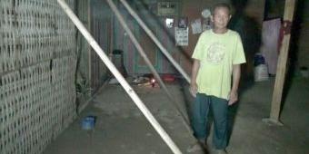 Puluhan Rumah di Ponorogo Rusak Pasca Diguyur Hujan Es Disertai Angin Kencang