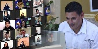 Wali Kota Kediri Paparkan Strategi Penanganan Covid-19 ke Mahasiswa Baru Universitas Wahidiyah