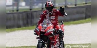 Hasil MotoGP Mugello Italia: Petrucci Juara, Diikuti Marquez dan Dovi, Bagaimana Rossi?