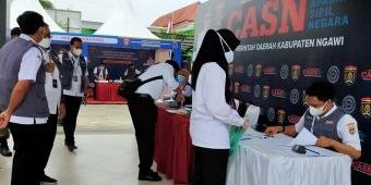 2.540 CPNS di Ngawi Ikuti Tes Kompetensi Dasar