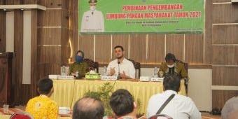 Perkuat Ketahanan Pangan, Pemkot Probolinggo Gembleng Para LPM dengan Pembinaan