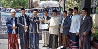 Peduli Korban Gempa Sulteng, Kemenag Lamongan Kirim Bantuan Rp 84 Juta dan 1 Truk Pakaian