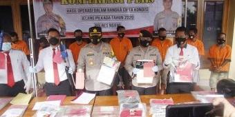Operasi Cipkon Sebulan, Polres Ngawi ungkap 10 Kasus dan 13 Tersangka