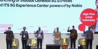 Jaringan 5G Indosat Launching di Surabaya