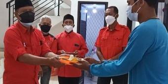 PDIP Kabupaten Kediri Rehab Total Kantor, Biaya Berasal Dari Hasil Gotong Royong