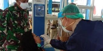 Kurangi Sebaran Covid-19, Pemkab Lumajang Gelar Rapid Antigen di Terminal Minak Koncar