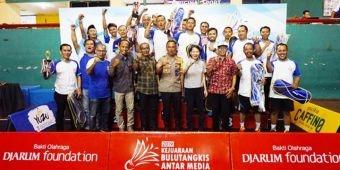 Taklukkan Malang Pos, Tim Bulutangkis Petisi.co Wakili Wilayah Timur