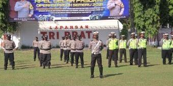 Apel Gelar Pasukan Operasi Patuh Semeru 2021, Kapolres Madiun Minta Kedepankan Edukasi
