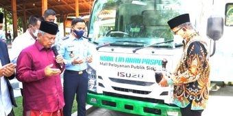 Gandeng Pemkab Sidoarjo, Kanim Surabaya Gelar Pelayanan Paspor Keliling