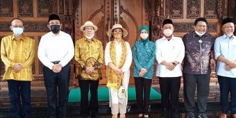 Sambangi Bupati Gus Yani, Akbar Tandjung Beri Support Pemerintahan Gresik Baru