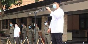Pimpin Apel Satpol PP, Wali Kota Pasuruan: Jangan Sampai Aset Pemerintah Kota Hilang