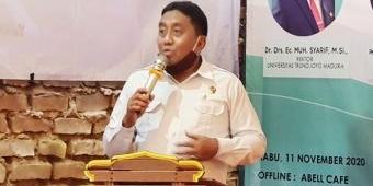 Rektor UTM Bangkalan Minta Mahasiswa Satu Suara Deklarasikan Provinsi Madura