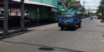 Komplotan Tak Dikenal Rampas Sebuah Truk di Pasar Porong