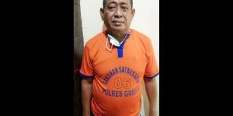Imron Zuhdi, Mantan Anggota Dewan Ditahan Polres Gresik Karena Kasus Jual Beli Tanah