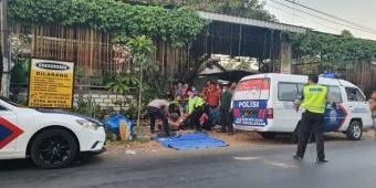Dihantam Pikap, Seorang Nenek di Tuban Tewas Seketika