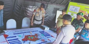 Polres Bojonegoro Pastikan Kesiapannya Menghadapi Potensi Bencana