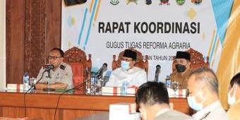 Gelar Rakor Perdana, GTRA dan Pemkot Pasuruan Upayakan Penyelesaian Konflik Agraria