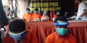 Polres Bangkalan Tangkap 7 Pengedar Narkoba, 3 di antaranya Wanita
