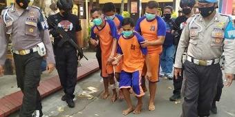 Komplotan Pencuri Minimarket Bersenjatakan Airsoft Gun di Jombang Diringkus, Dua Pelaku Didor