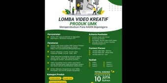Kadin Bojonegoro Gelar Lomba Video Kreatif Produk UMK