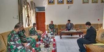 Tingkatkan Jalinan Silaturahmi, Dandim Ngawi Kunjungi Pondok Gontor