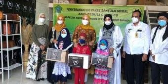 Peringati Hari Jadi, Moonzaya Indonesia Bagikan 500 Paket Sembako ke Warga Terdampak Pandemi