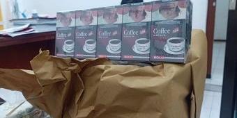 Polisi Gerebek Pabrik Rokok Coffee di Sidoarjo, Sita 1,1 Juta Batang Rokok Ilegal