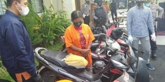 Buat Bayar Utang, Seorang IRT di Ngawi Nekat Curi Motor di Sawah